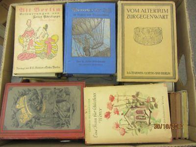 50  Bücher antiquarische Bücher