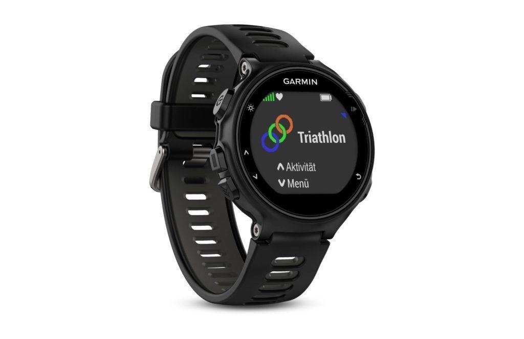 Garmin Forerunner 735XT GPS Running Watch Grau/Schwarz *NEU*