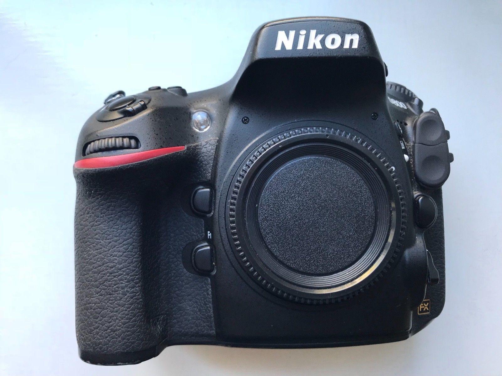 Nikon D D800  nur 8698 Auslösungen !!!