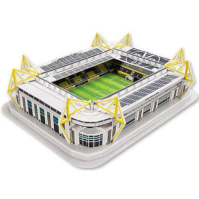 BVB Stadionpuzzle 3D Stadion Signal Iduna Park Borussia Dortmund Puzzle 74 Teile