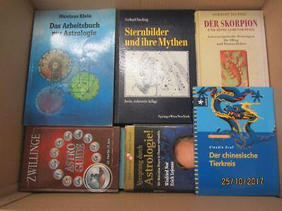 78 Bücher Astrologie Horoskope Strendeutung Sternzeichen Zukunftsdeutung