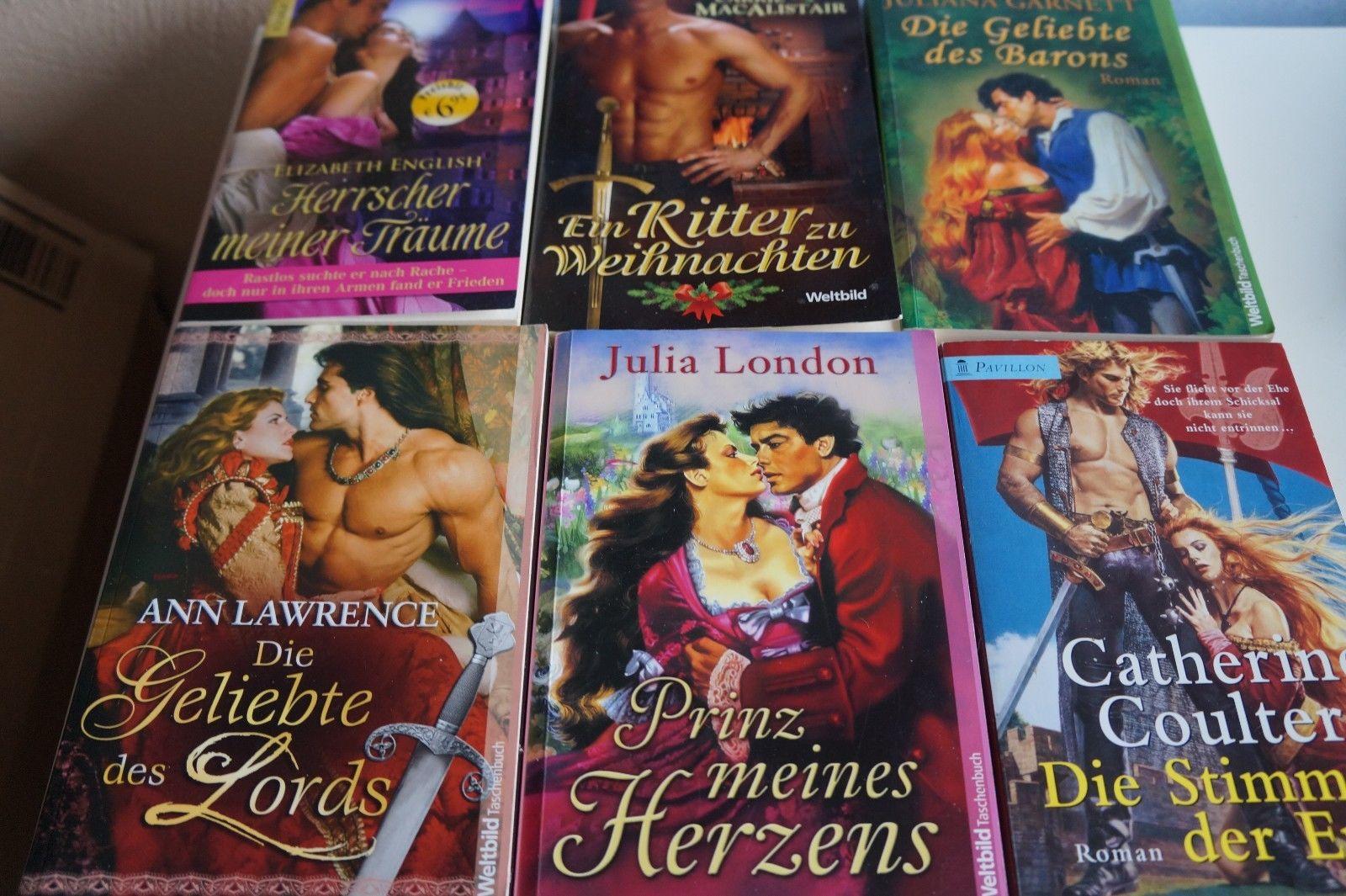 32 historische Liebesromane, Romane, Bücherpaket, Büchersammlung, Highlands ab1€