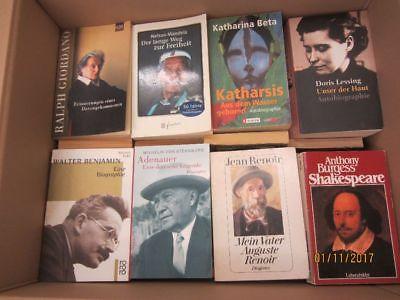 67 Bücher Biografie Biographie Lebenserinnerungen Autobiografie Lebensgeschichte