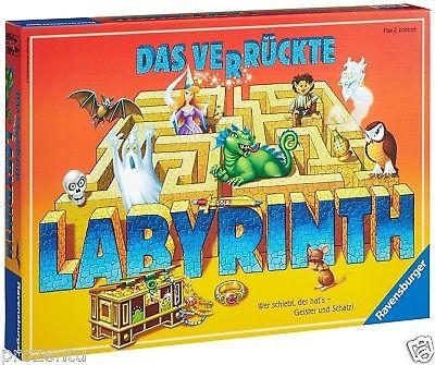Ravensburger 26446 Das verrückte Labyrinth Verpackungsschaden, Retoure geprüft
