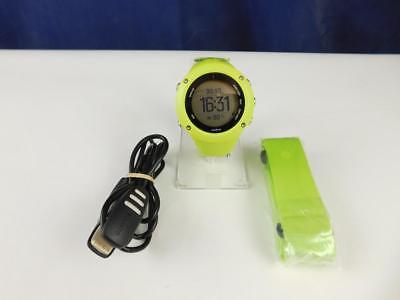 Suunto Unisex Ambit3 GPS-Uhr zum Laufen Aktivitätstracker Schrittzähler Grün