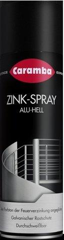 Caramba 60768505 Zink-Spray 500ml in alu-hell