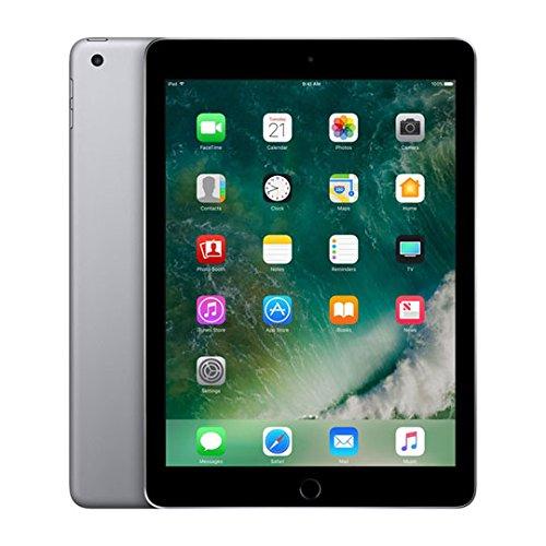 Apple iPad Wifi (Neue iPad–Neueste Modell–2017) (ersetzt iPad Air 2) schwarz grau - space gray 128 GB