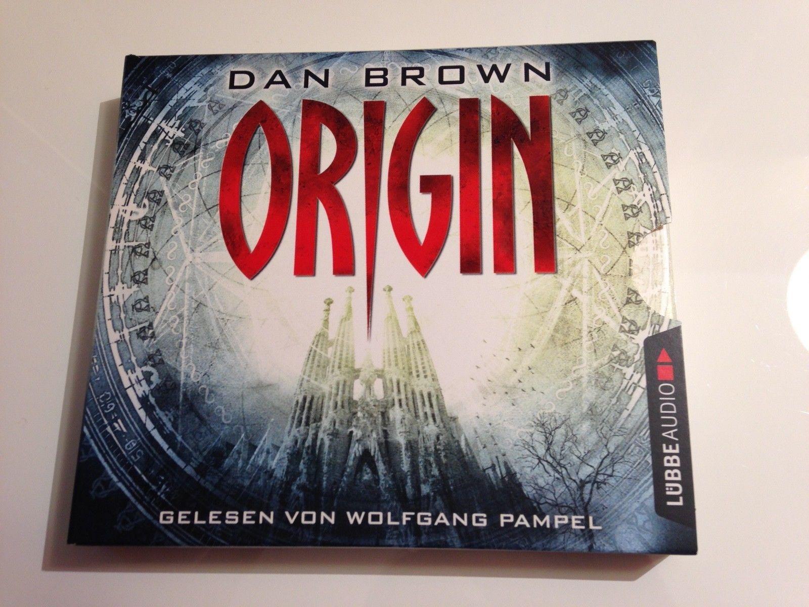 Origin - Dan Brown Hörbuch CD