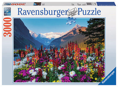 Ravensburger 17061 - Flowery Mountain, 3000 Teile Puzzle