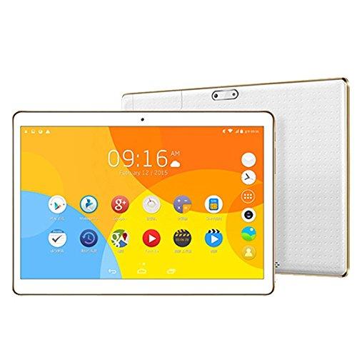 AMH-9,6 Zoll 16:9 800*1280 Auflösung Android 6.0 3G Tablet PC Quad Core 1,3 MHz 1GB RAM+ 16GB 0.3MP Dual-Kamera Wifi, Bluetooth 4500MAH für Kinder und Erstbenutzer [Schwarz-Silber] (Silber)