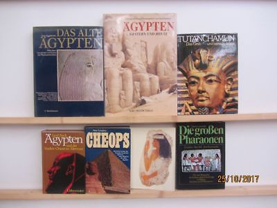 26 Bücher Bildbände Kunst Kultur Geschichte ägyptische Geschichte Ägypten