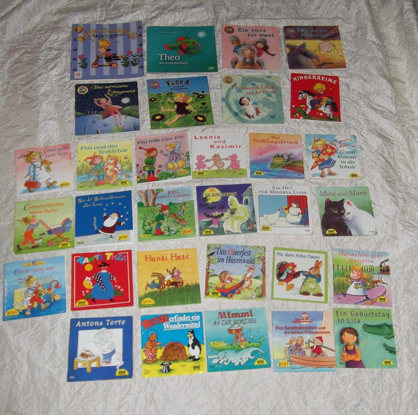 31 verschiedene Kinder Mini Bücher - Carlsen + Coppenrath + Pixi Sammlung