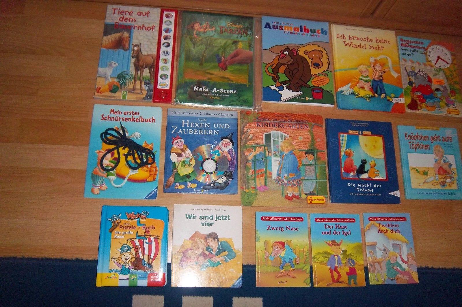 Bücherpaket 2 @ 15 verschiedene Kinderbücher