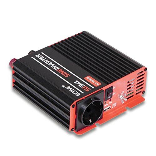 ECTIVE SI-Serie | Sinus Wechselrichter 12V zu 230 V | 7 Varianten: 300W - 3000W | Spannungswandler, Stromwandler, Energy Converter, Konverter, Umwandler, Backup System, Wandler dc ac, Inverter