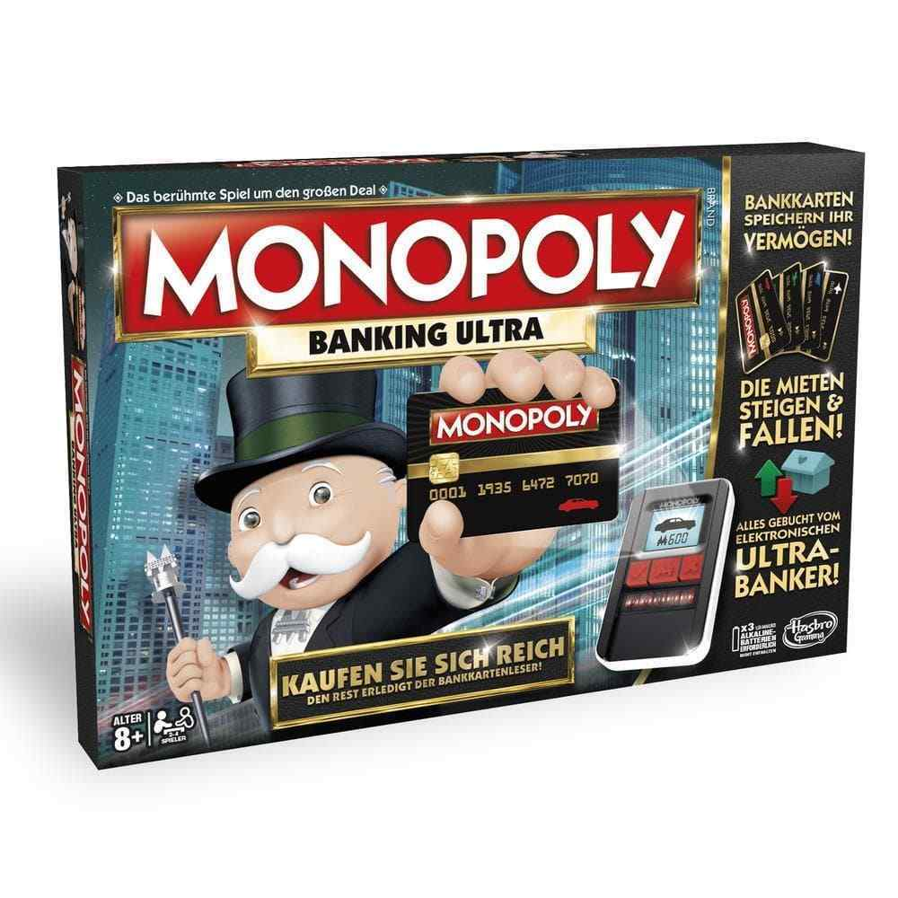 Hasbro Monopoly Banking Ultra B6677 NEU OVP