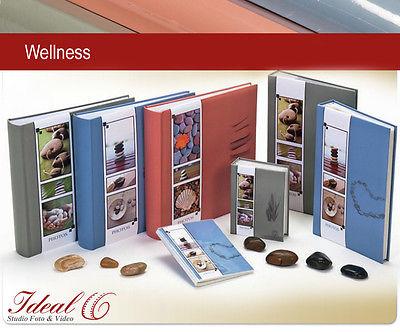 3er Set Fotoalben Wellness je Fotoalbum 30x30 100 Seiten 600 Fotos Jumbo