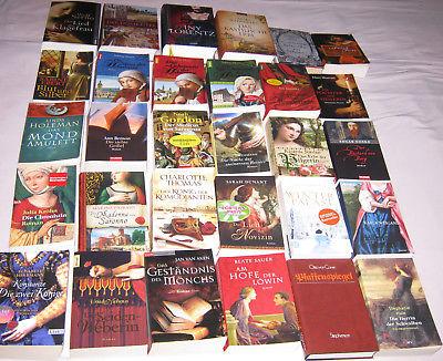 riesiges Bücherpaket 30x historische Romane Bestseller top Titel Bücher Sammlung