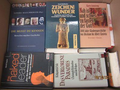 36 Bücher Sachbücher Wissenschaft Wirtschaft Politik Zeitgeschichte Paket 1