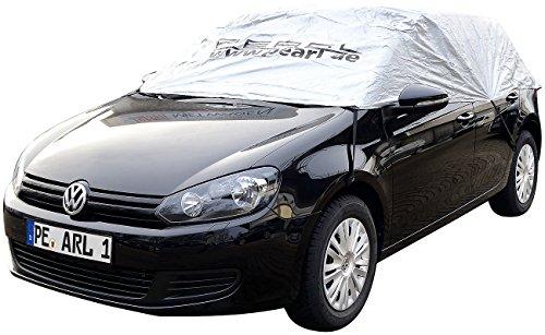 PEARL PKW Halbgarage: Premium Auto-Halbgarage für Mittelklasse Kombi, 380 x 138 x 40 cm (Eis- & Schneeschutz-Halbgaragen)