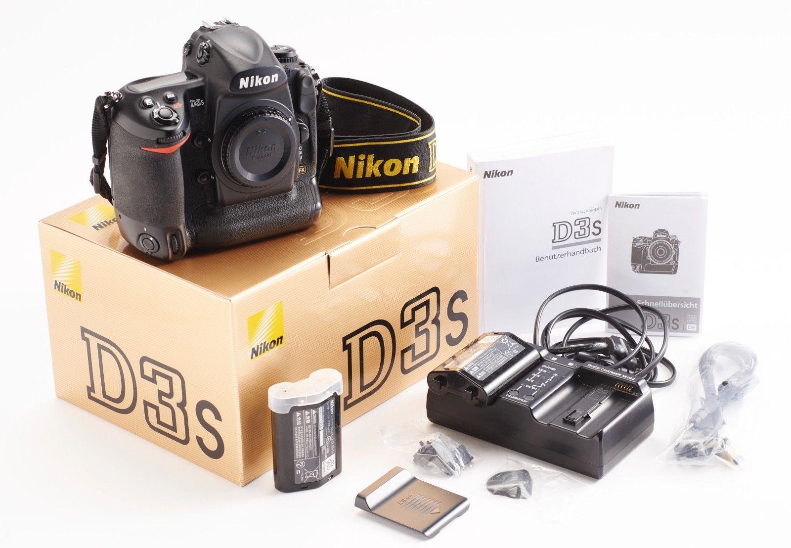 Nikon D D3s 12.1MP Digitalkamera - Body - 108.000 Auslösungen