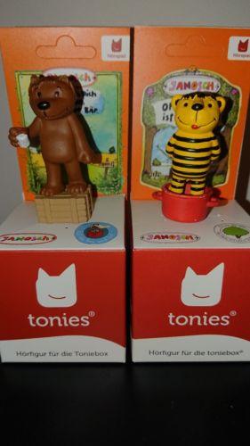 2 tonies Figuren Janosch Tiger und Bär