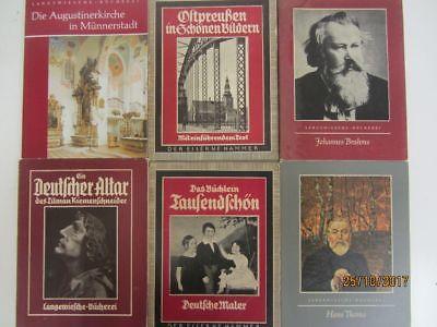 60 Bücher Langewiesche Bücherei teilweise antiquarisch