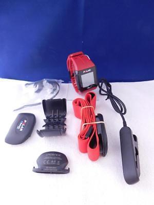 POLAR Pulsuhr V800 HR JNG Special Edition Rot Sportuhr GPS-Uhr