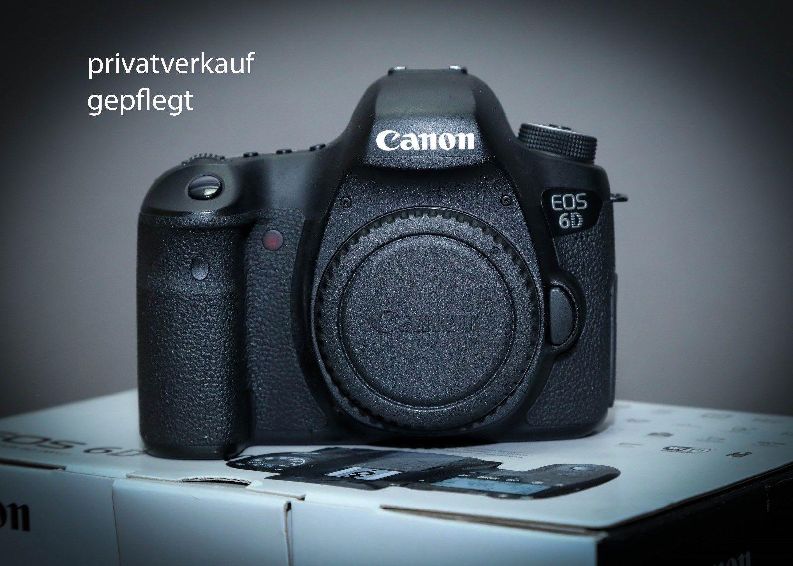 Canon EOS 6D 20.2 MP SLR-Digitalkamera Vollformat Sensor nur Body