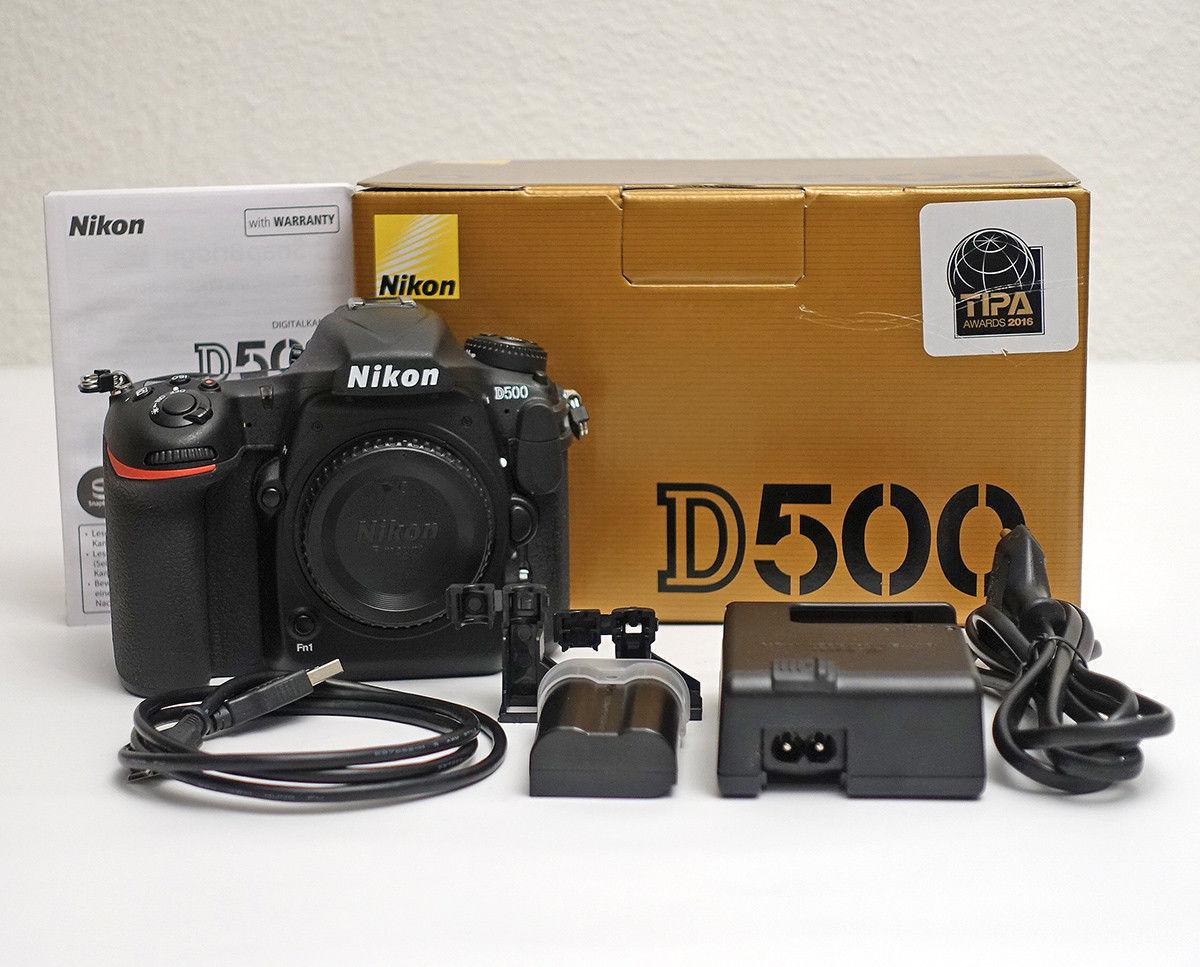 Nikon D500 Digitalkamera mit OVP + GARANTIE / 3150 Clicks / Kamera Gehäuse Body