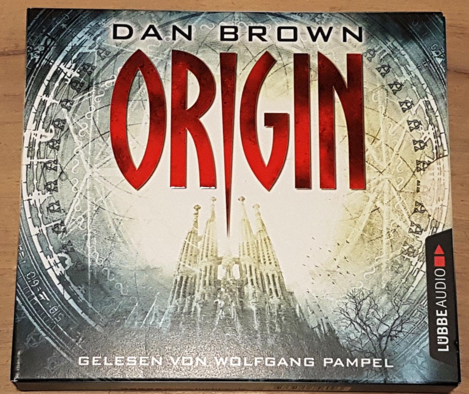 Origin von Dan Brown - Hörbuch - 6 CDs - top Zustand
