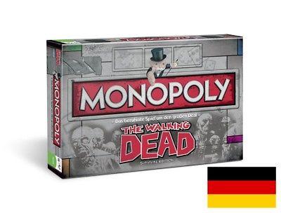 Monopoly The Walking Dead Survival Edition Brettspiel Gesellschaftsspiel NEU