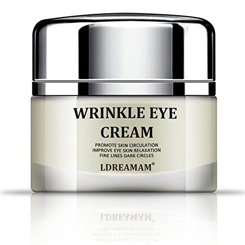 Augencreme,Augen Faltencreme,Eye Cream,Anti Aging Augencreme,Eye Care - Antialterung Eye Gel Behandlung für Dunkle Kreise, Falten, Schwellungen, Krähenfüße, feine Linien & Taschen