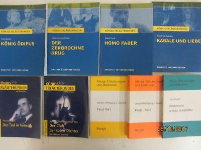 100 Bücher Königs Erläuterungen und Materialien Klasiker der Weltliteratur
