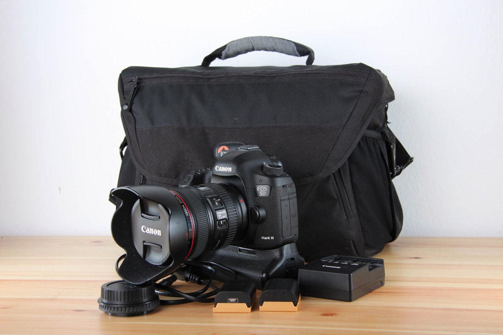 Canon EOS 5D Mark III 22.3 MP Bundle mit Objektiv L 24-105 F4