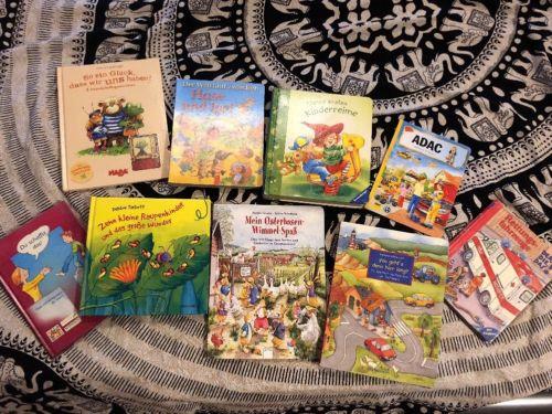 Kinderbücher Paket Kinderbuch Buch Bücher Wimmelbuch Reime Der Die Das Raupe