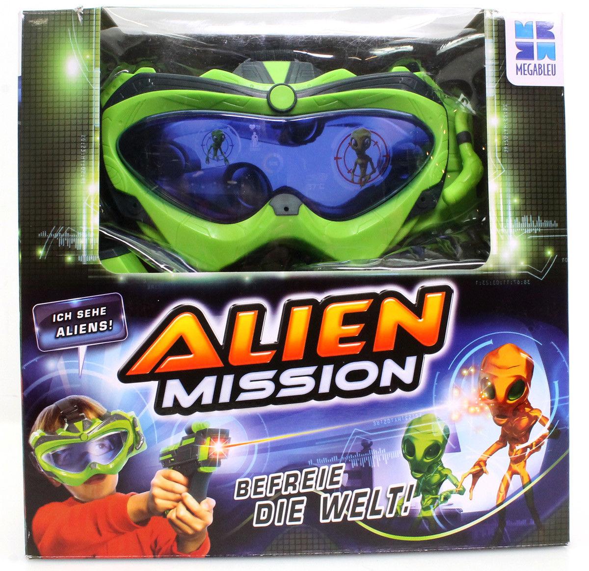 Alien Mission von Megableu Aktionspiel 678465 Vision Brille, Shooter Laserkanone