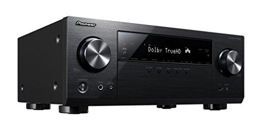 Pioneer VSX-832-B 5.1 Netzwerk AV-Receiver mit Dolby Atmos, Multiroom und integriertem WiFi & Bluettooh unkomplizierten Musik-Streaming schwarz
