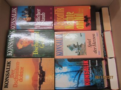 Heinz G.Konsalik 45 Bücher Romane Liebesromane Kriegsromane Schicksalsromane