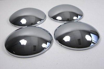 VW Bus T1 T2 T3 Käfer 4 Chrom Radkappen Radkappe Mooncap Moon Cap Retro