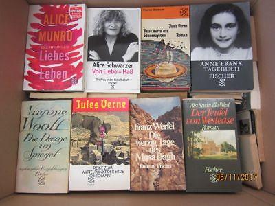 114 Bücher Taschenbücher Fischer Verlag