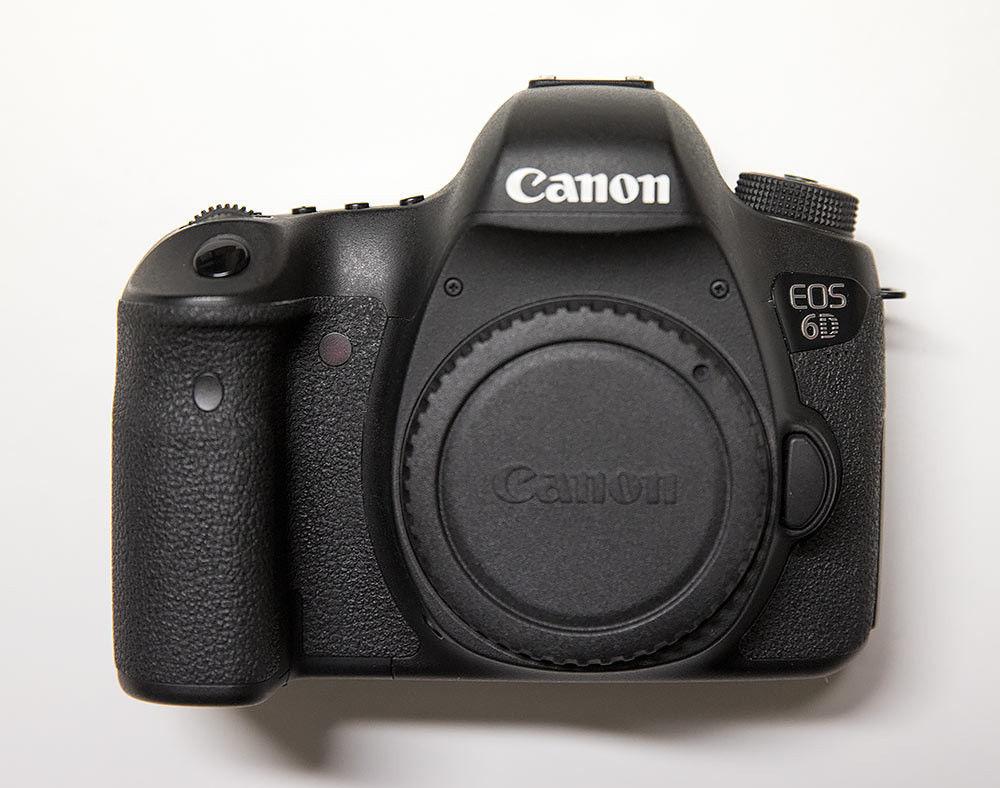 Canon EOS 6D 20,2 MP SLR-Digitalkamera - Schwarz (nur Body)