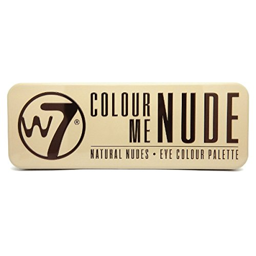W7 In the Nude 12 Eye colour Palette, 1er Pack (1 x 15.6 g)