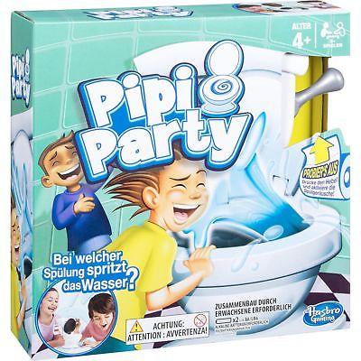 Hasbro Gaming Pipi Party, Geschicklichkeitsspiel