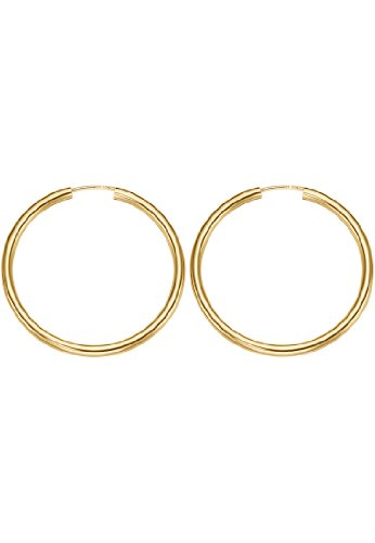 CHRIST Gold Damen-Creole 333er Gelbgold One Size, gold