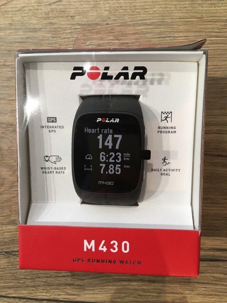 Polar M430 Uhr  GPS-Multisport-Smartwatch mit HF Messung am Handgelenk NEU  !!!