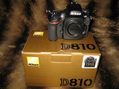Nikon D 810 - Unbenutzt in Originalverpackung mit Rechnung von Oktober 2017