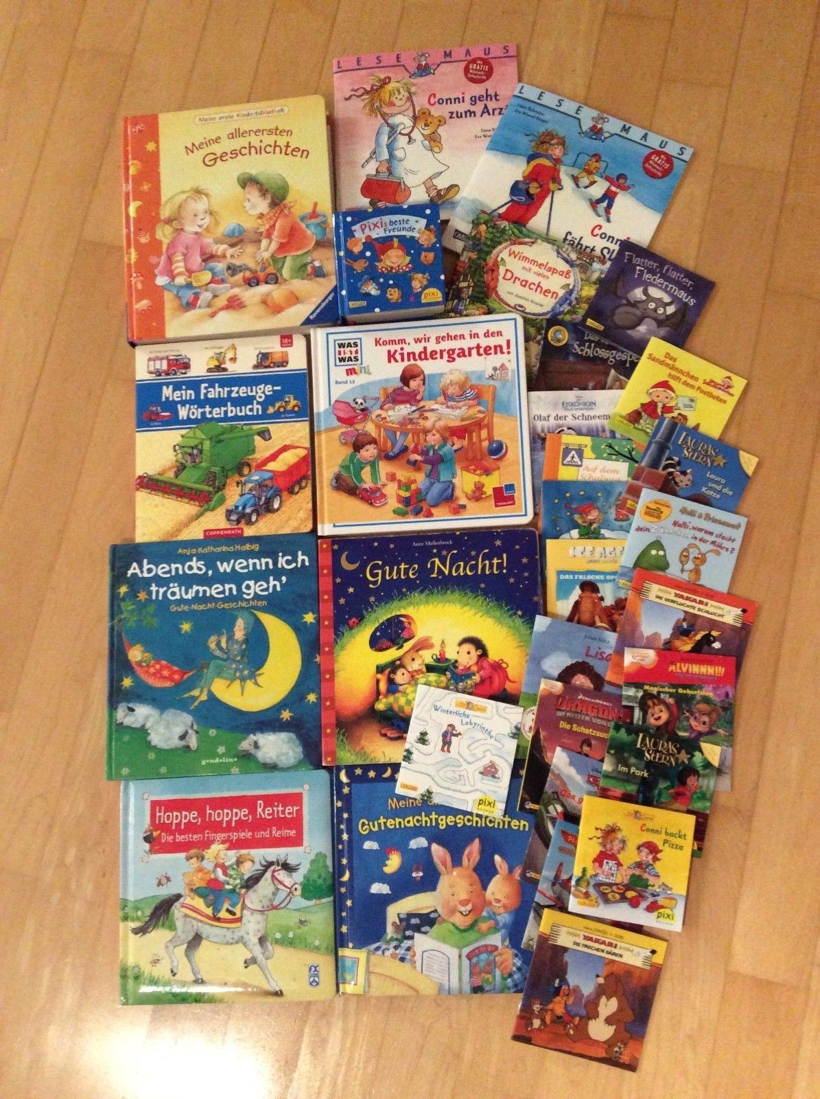 Kinderbuecher PAKET Vorlesebuecher Pixi Bücher Lesemaus ab 18 Monaten
