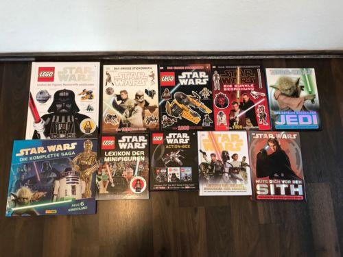 Star Wars und Lego Star Wars Buch- Bildbandsammlung