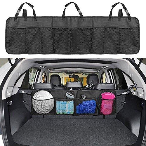 Kofferraum Organizer, Infreecs Auto Organizer mit großen Netz-Taschen | Sitztasche | Auto Aufbewahrungstasche | Rücksitz Organizer | Auto-Sitztasche für mehr Ordnung und Platz in Ihrem Kofferraum