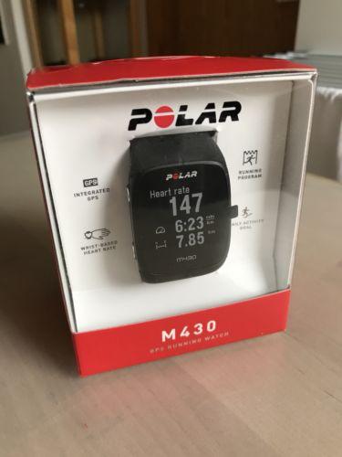 Polar M430 GPS Running Watch / Fitness Tracker Uhr - neuwertig mit Garantie!